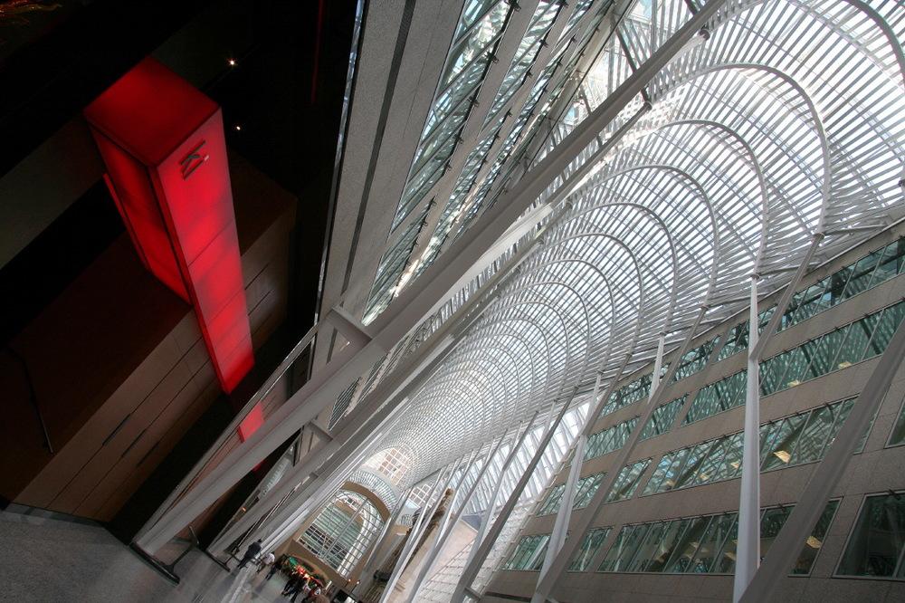 Entrée du Ki restaurant & Lounge dans 'BCE Place', Toronto