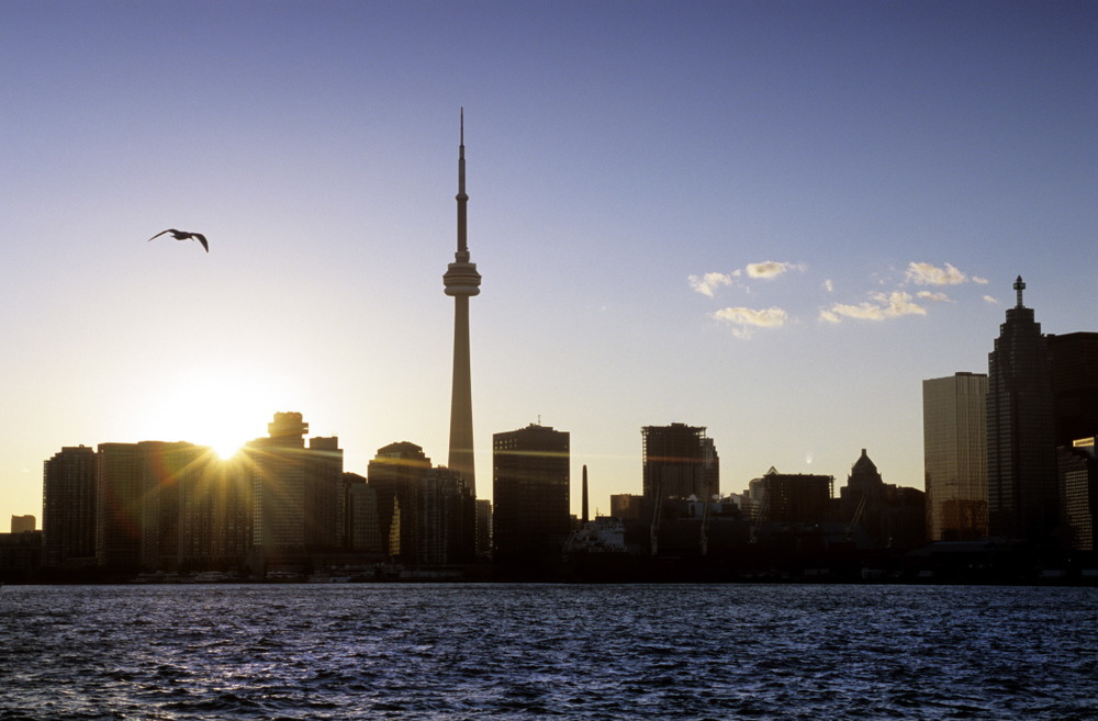 Sunset sur Toronto