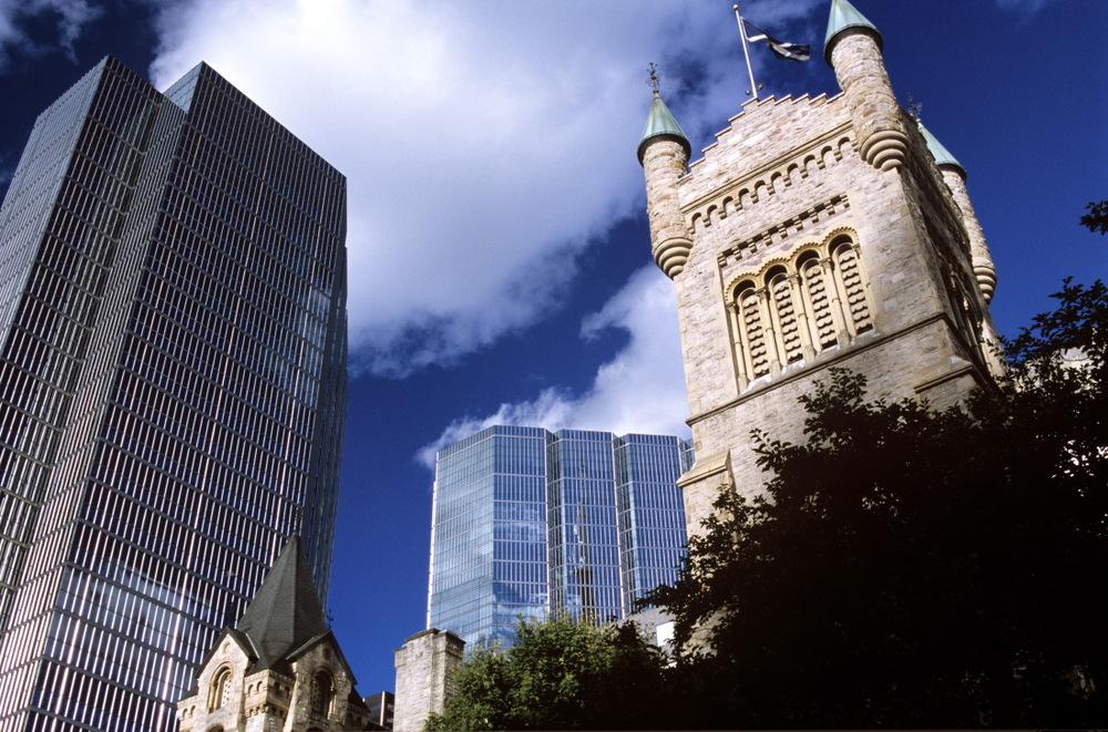 L'église St Andrew à Toronto