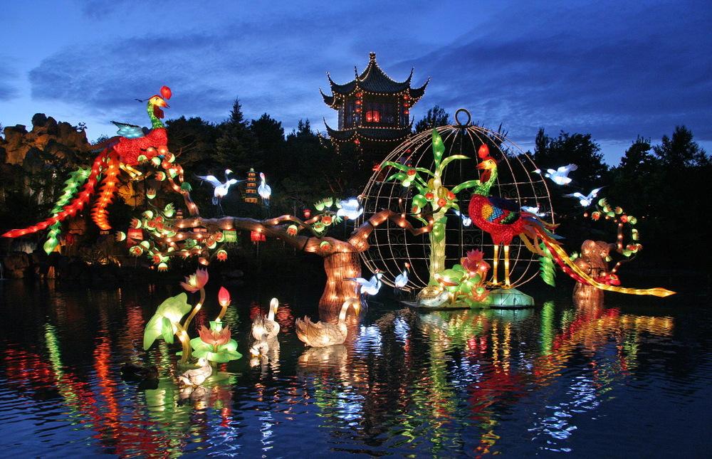 Dans le jardin chinois du Jardin botanique