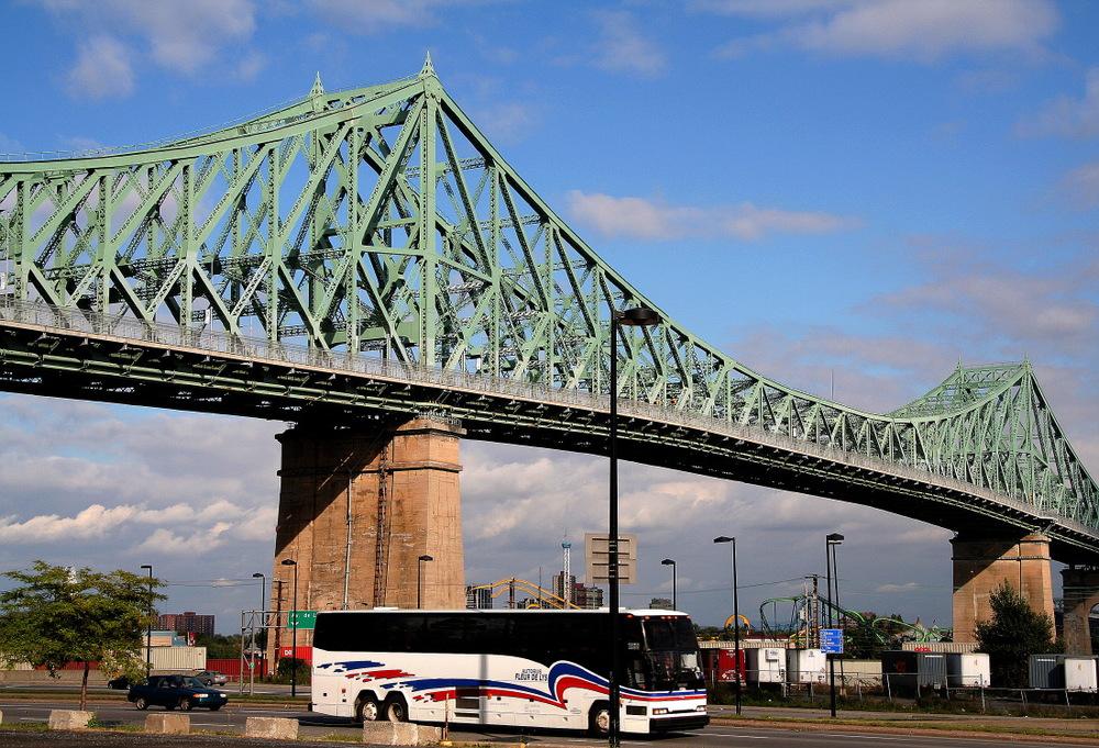 Le vénérable pont Jacques Cartier, Montréal