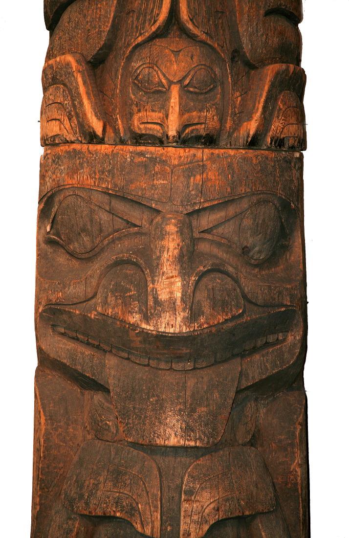 Totem amérindien au Musée McCord