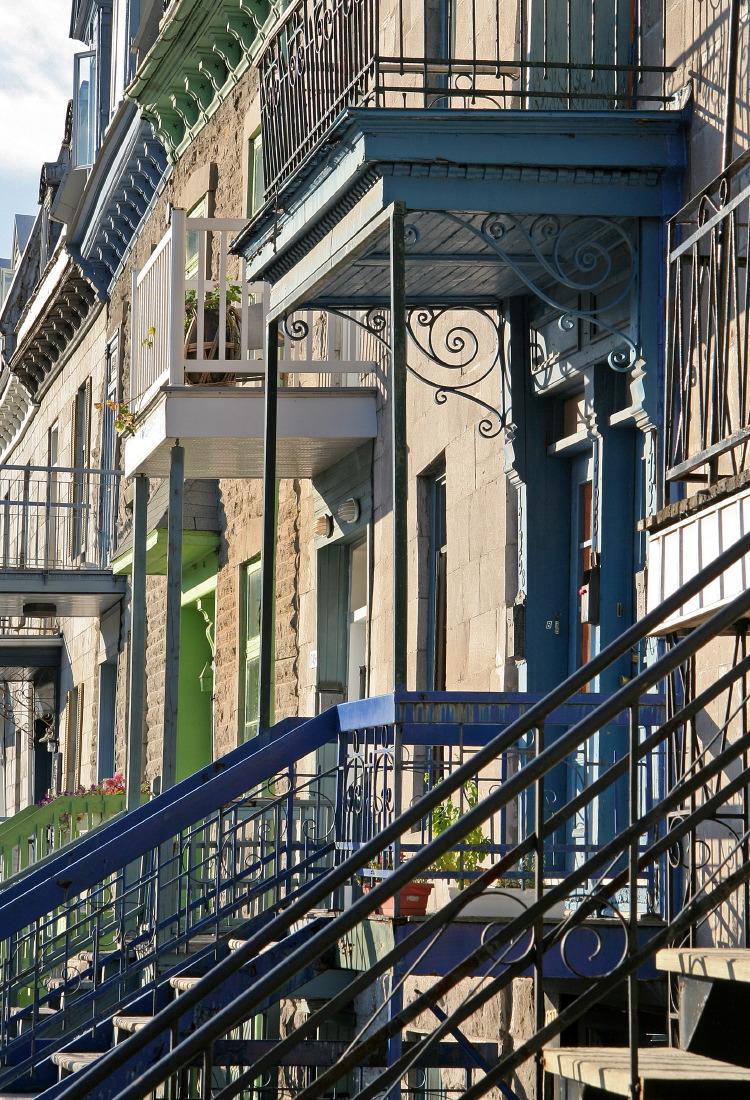 Les escaliers, patrimoine architectural de Montréal