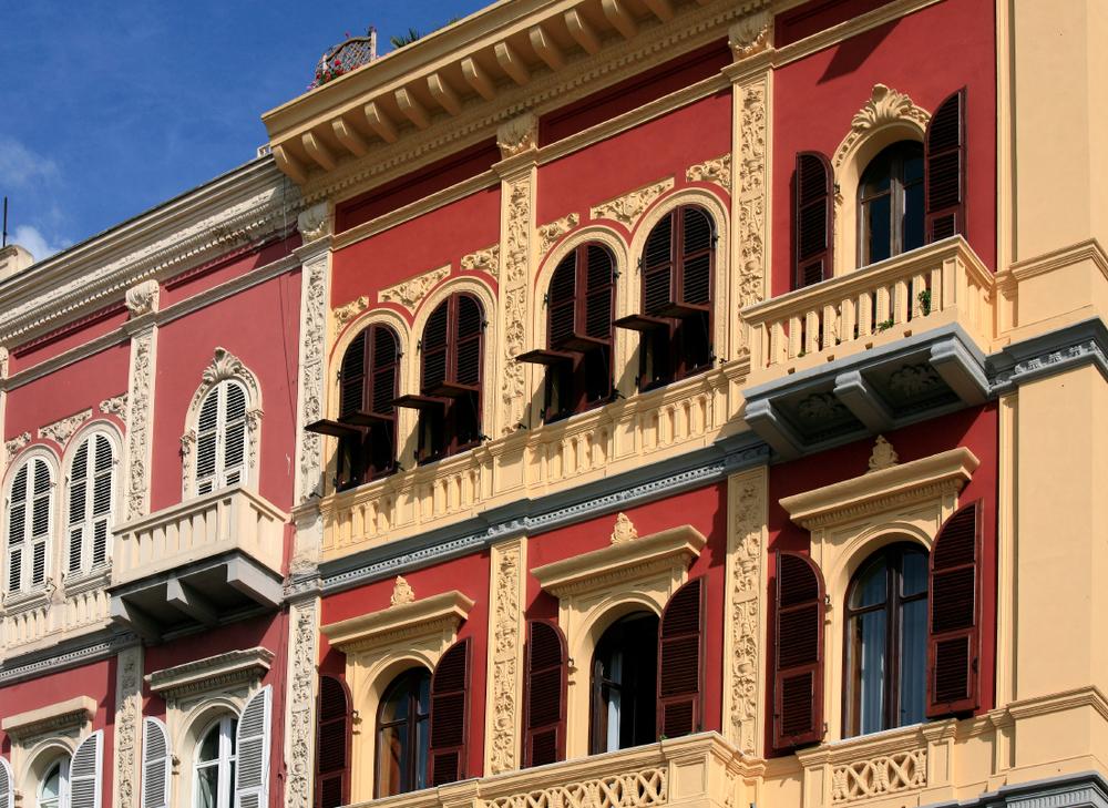 Architecture le long de 'Largo Carlo Felice', Cagliari