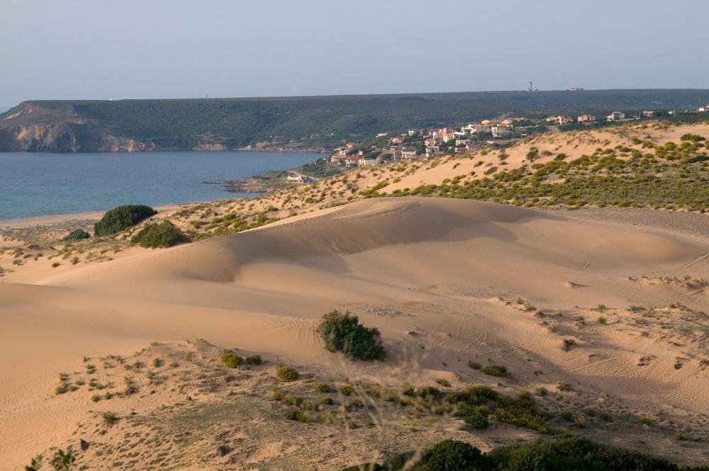 Dunes de sables à Torre dei Corsari, Costa verde
