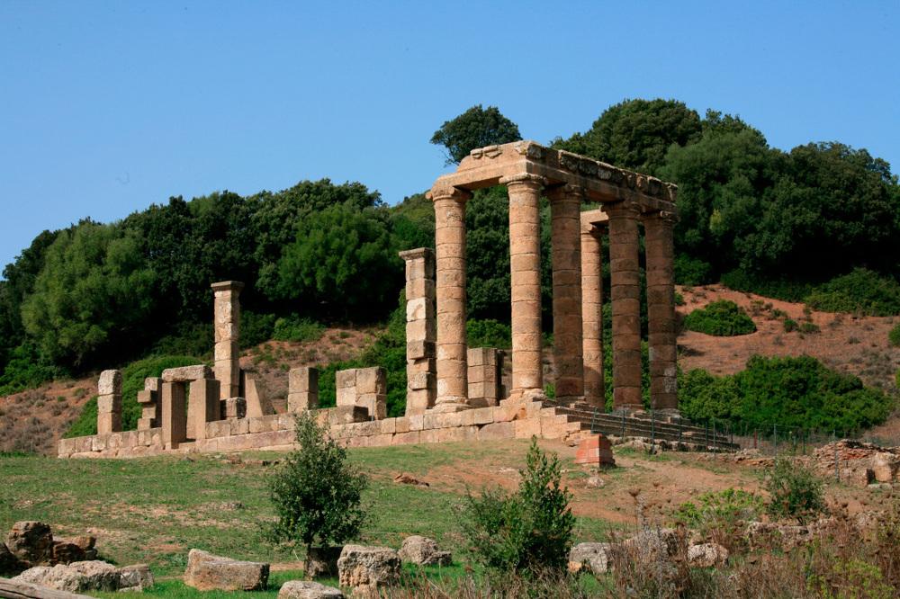Temple d'Antas, à 10 km de Fluminimaggiore