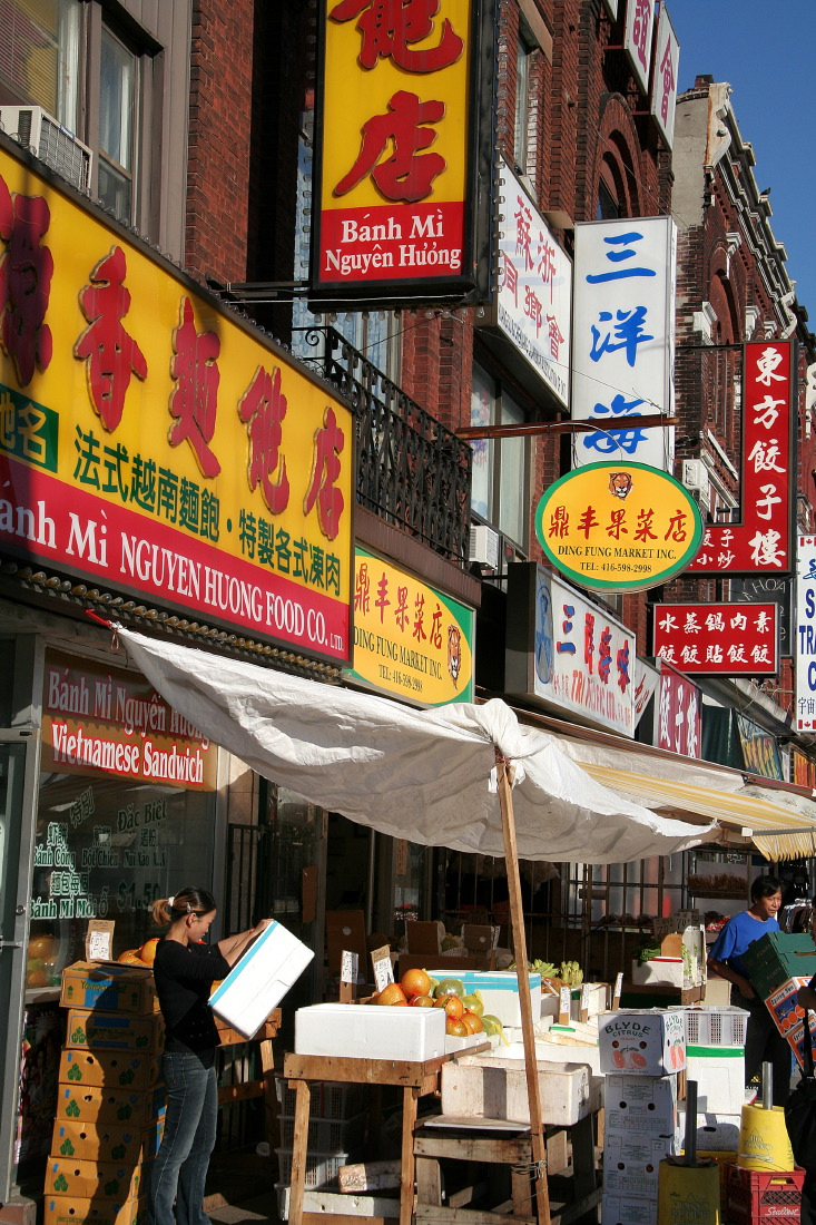 Incroyablement 'grand', le Chinatown de Toronto