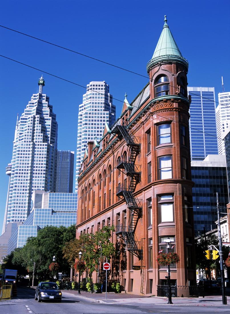 Gooderham Building, le 'Flatiron' de Toronto