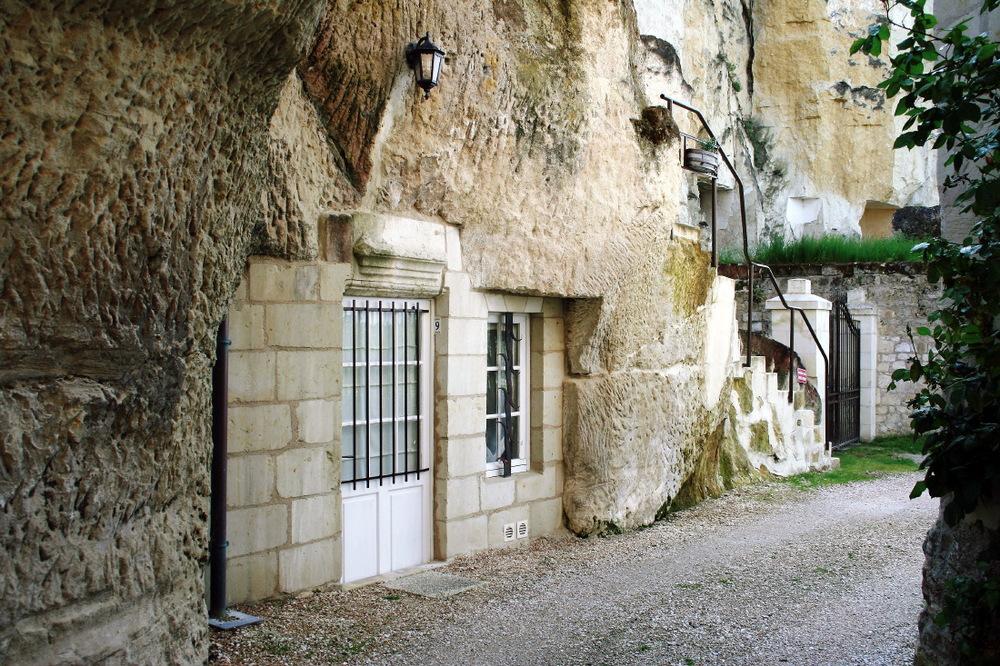 Belle demeure troglodyte en Val de Loire