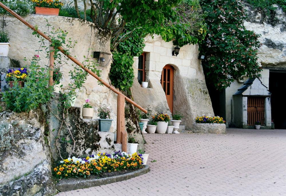 Maison de vigneron & sa cave 'troglo' ouverte au public