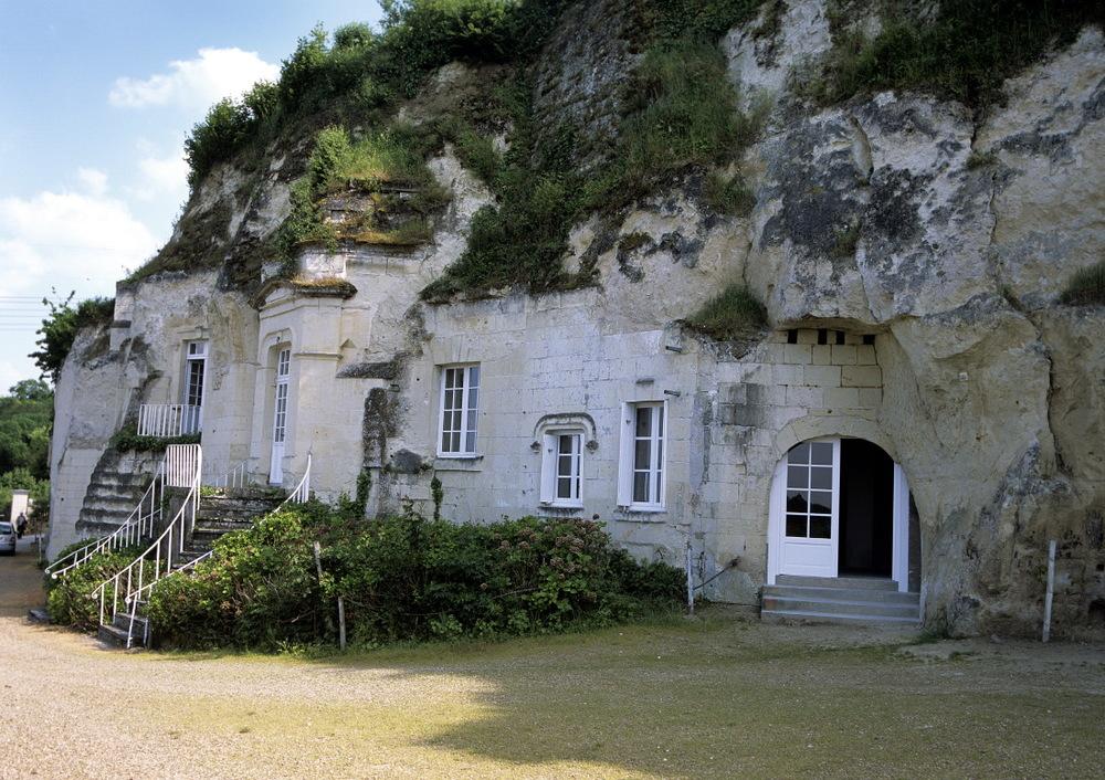 Troglo d'un vigneron, Val de Loire