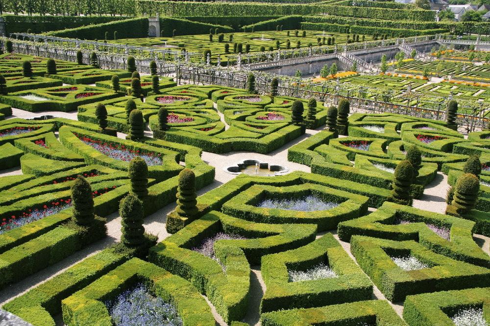 Jardins  de Villandry, Val de Loire