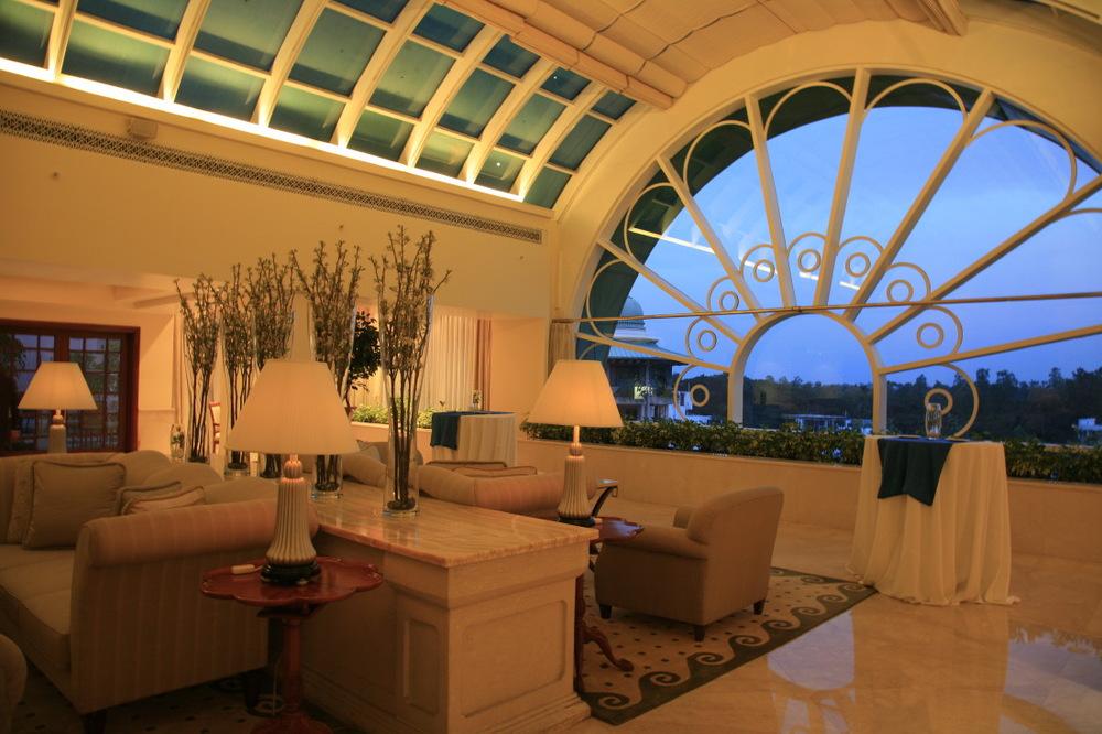 Lounge du Club au Leela Palace, Kempinski Bangalore