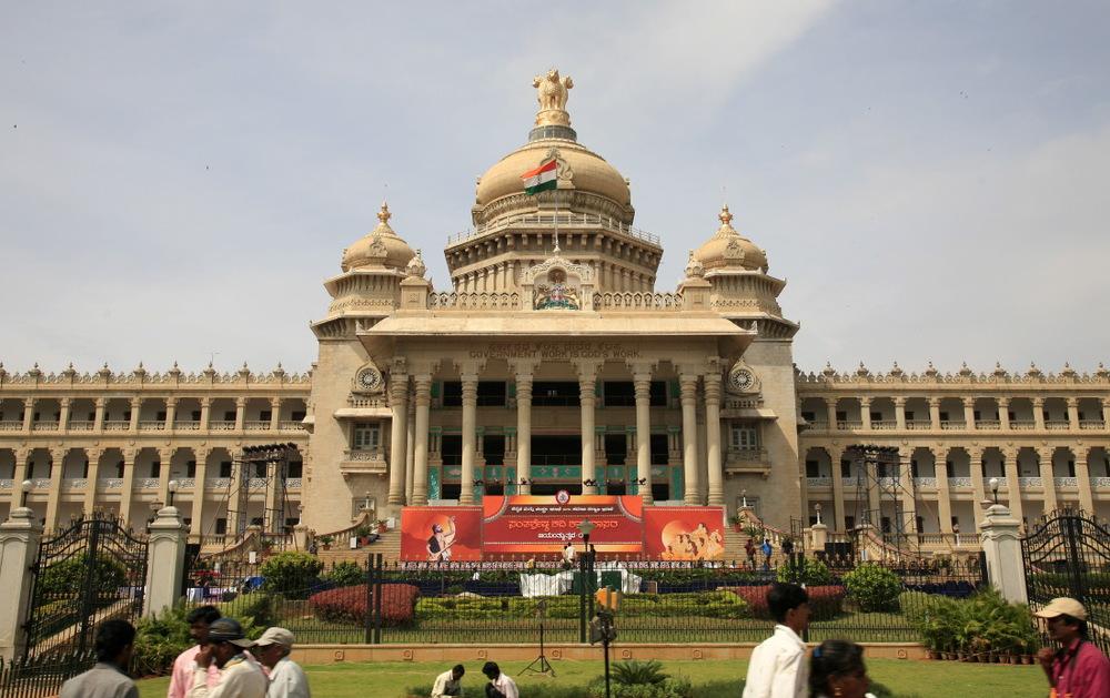 'Vidhana Soudha' (Bâtiment de l'assemblée législative), Bengalore