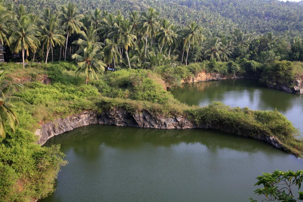 Paysage entre Kovalam et Kollam, Kerala