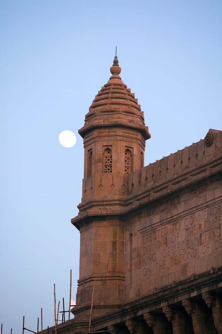 Le grès jaune de la porte de l'Inde, Place Appolo Bunder, Bombay
