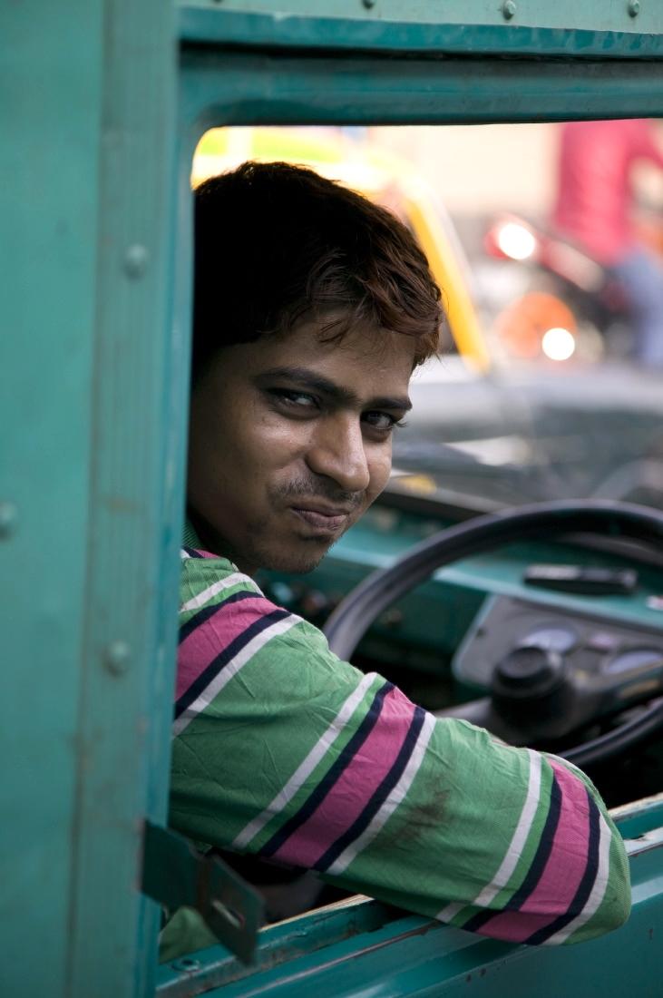 Dans les embouteillages de Bombay/Mumbay