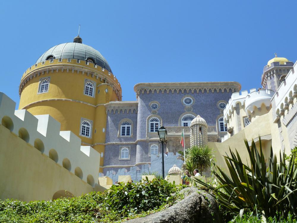 Palais de Pena, non loin de Sintra © K. Marchal