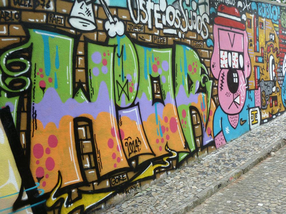 Dans le quartier d'Alfama, Lisbonne