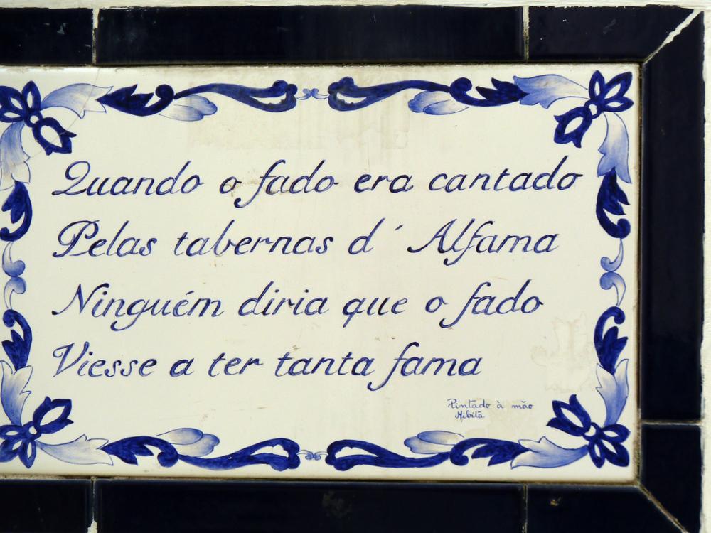 Fado sur Azuleros, Lisboa