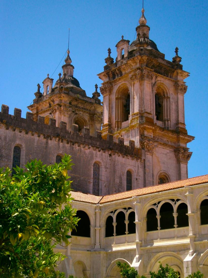 Le monastère de Santa Maria d'Alcobaça, au nord de Lisbonne