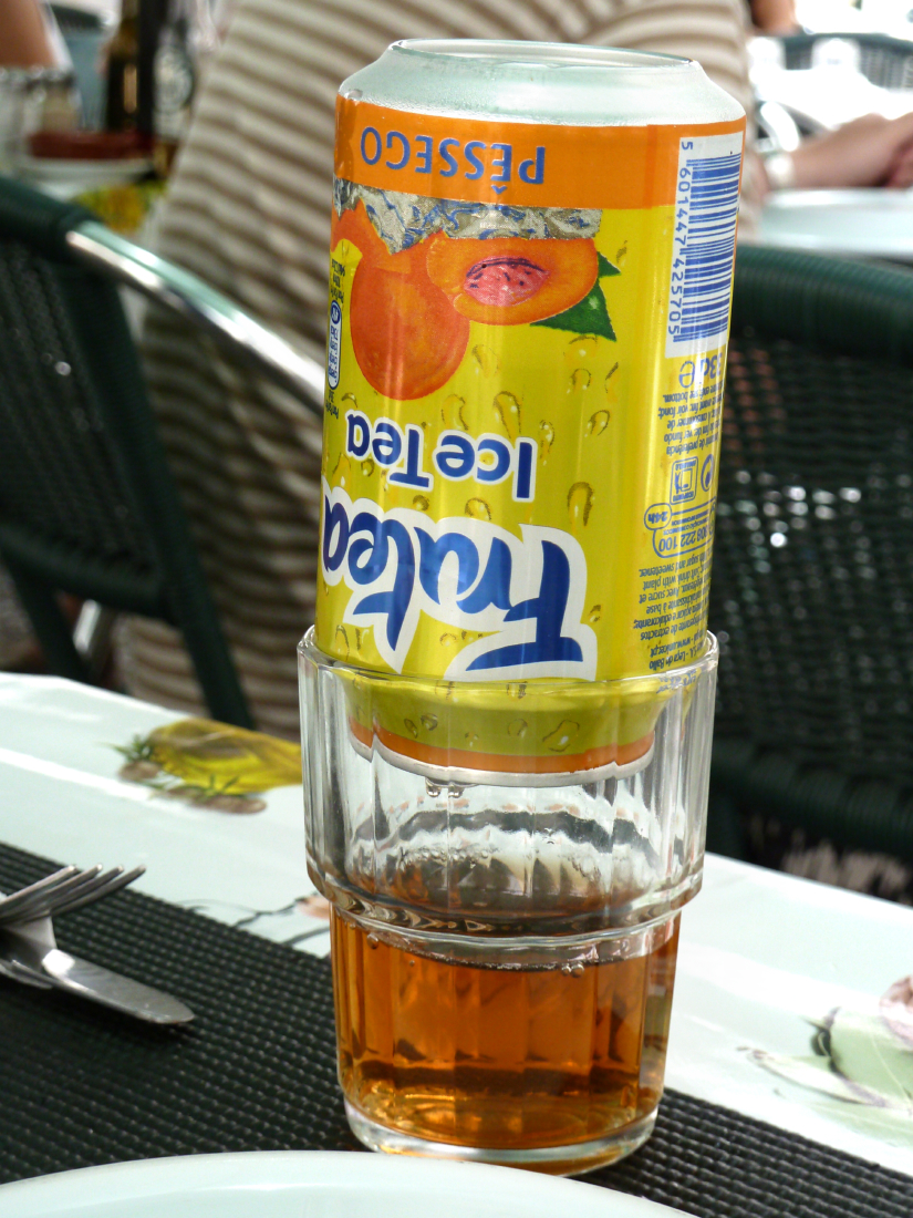 L'Ice Tea de mon 'Ado' !
