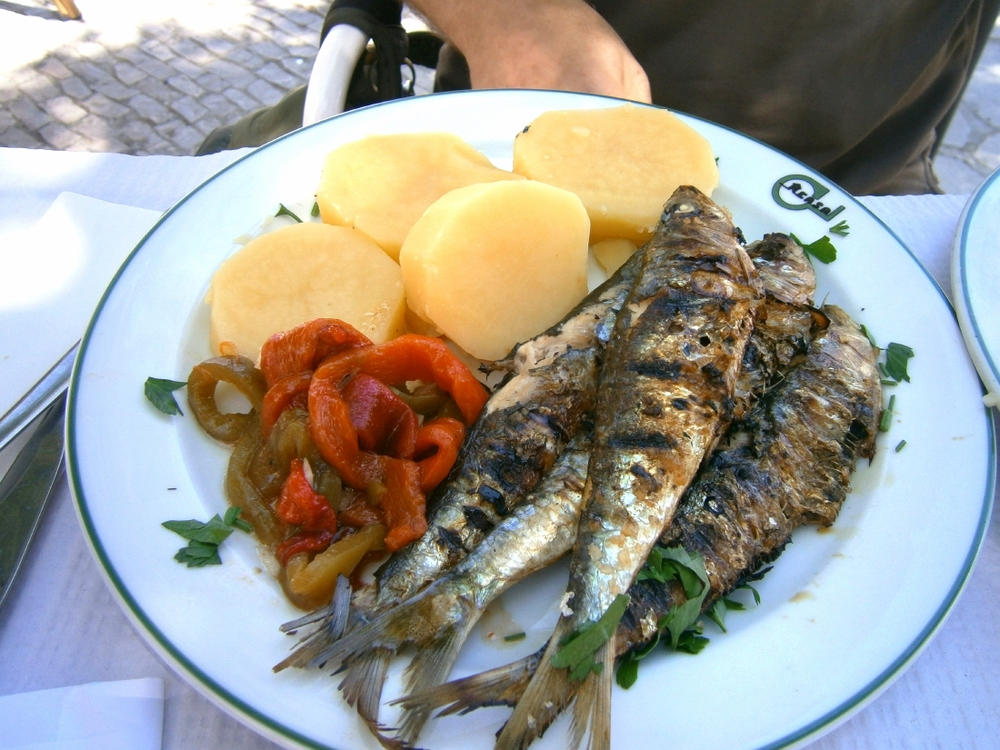Des sardines, des sardines... Vives les sardines !