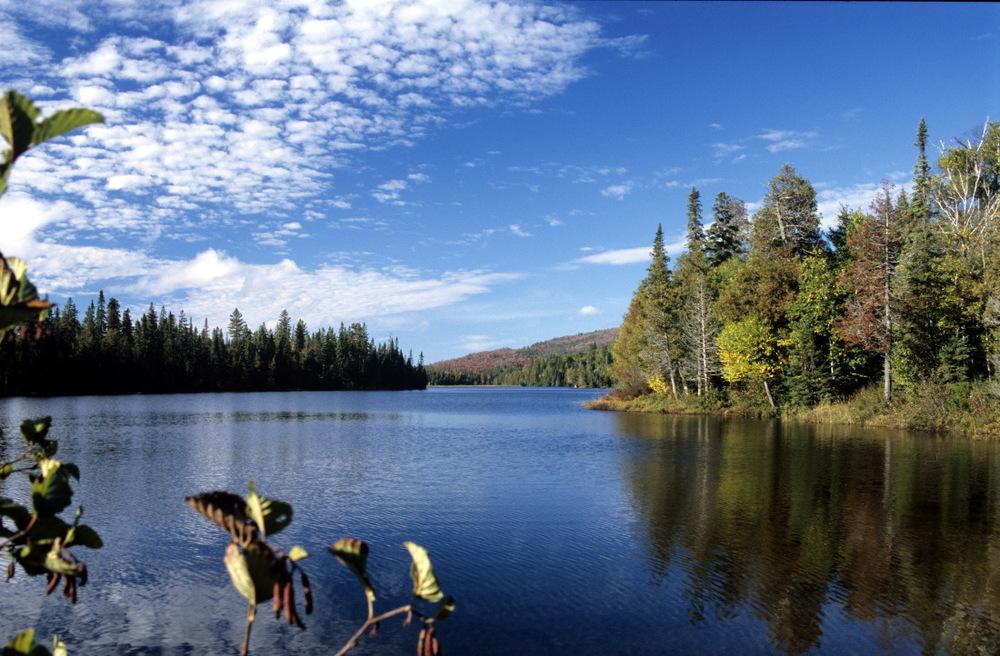 Whitesand Lake, Rainbow Falls Provincial Park