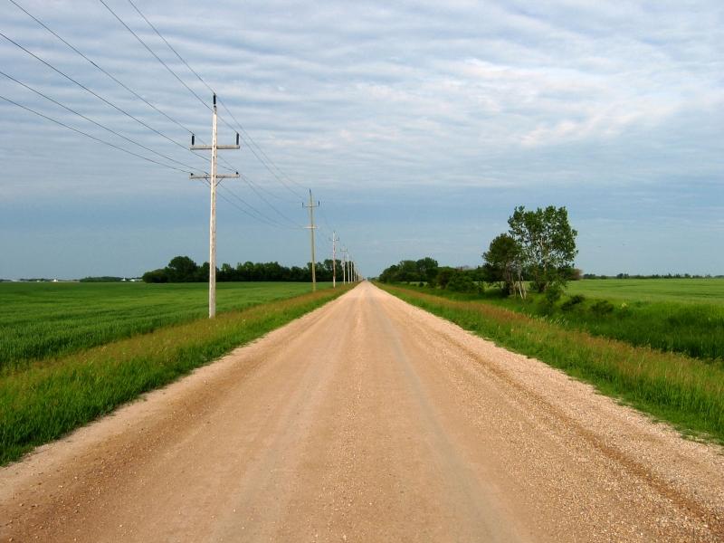 Les prairies du Manitoba              ©Canada Maps