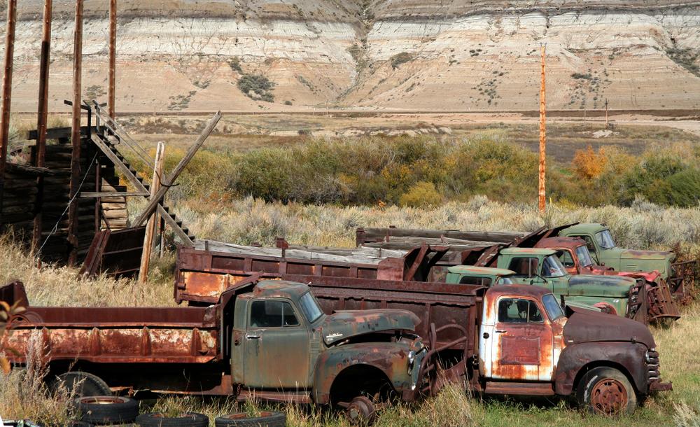 Tout au bout de Hoodoos Trail, une impression de fin du monde © JJ Serol