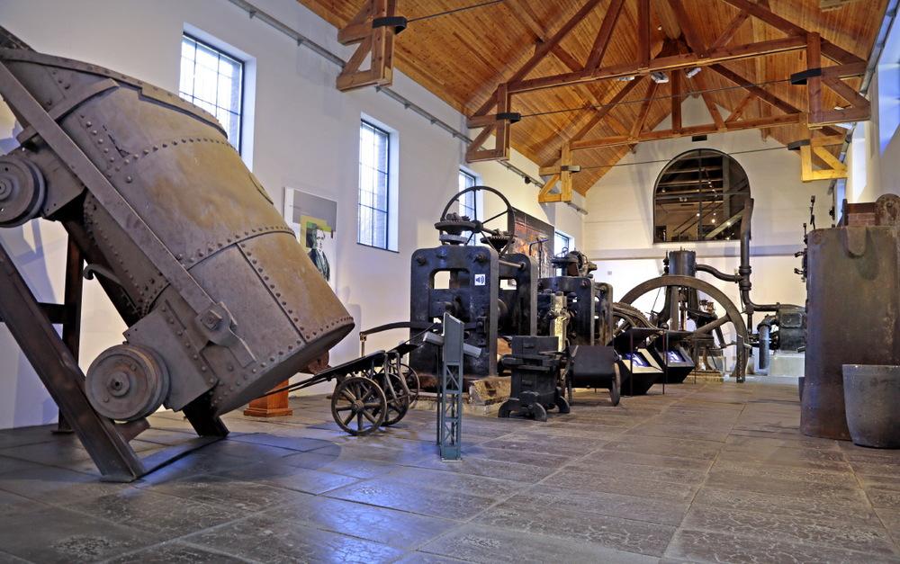 Les monstres de la sidérurgie au Bois du Cazier