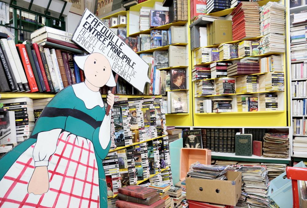 Librairie Farfouille,  Passage de la Bourse