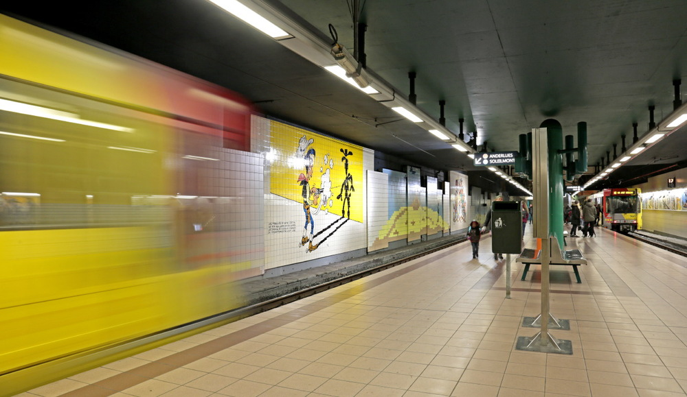 "Métro: station ""Lucky Luke"""