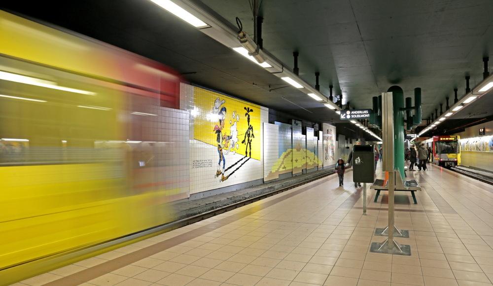 """Métro: station """"Lucky Luke"""""""