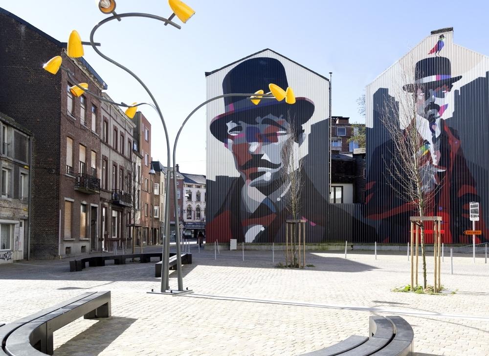 Sozyone Gonzales (Biennale Asphalte#1),  adepte du «vandalisme esthétique»