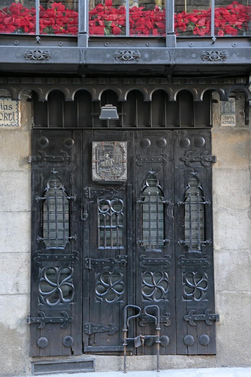 Porte du quartier gothique