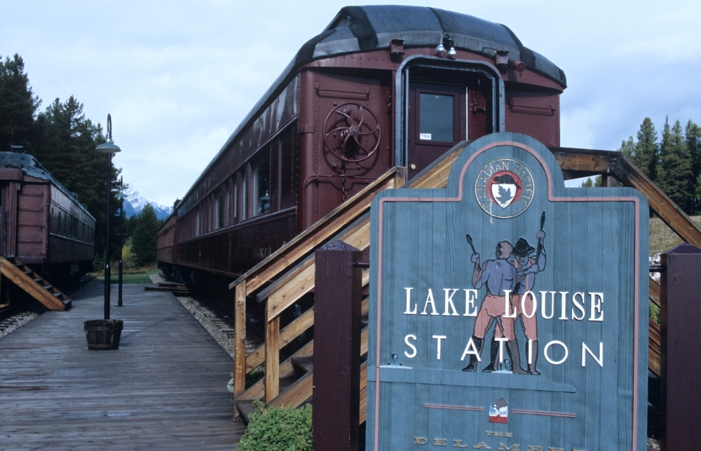 Au Lac Louise, l'une des premières merveilles en quittant Banff