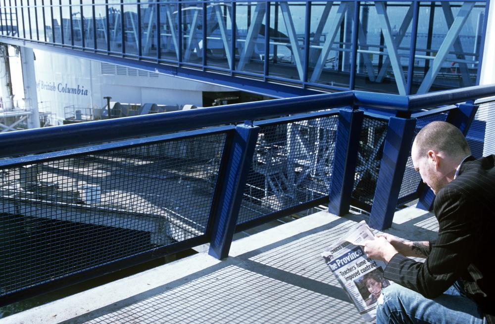 Attendant le ferry pour Victoria...