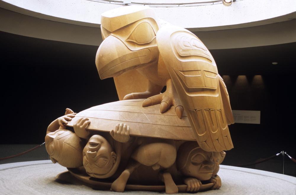 Au Musée d'Antropologie de la BC University