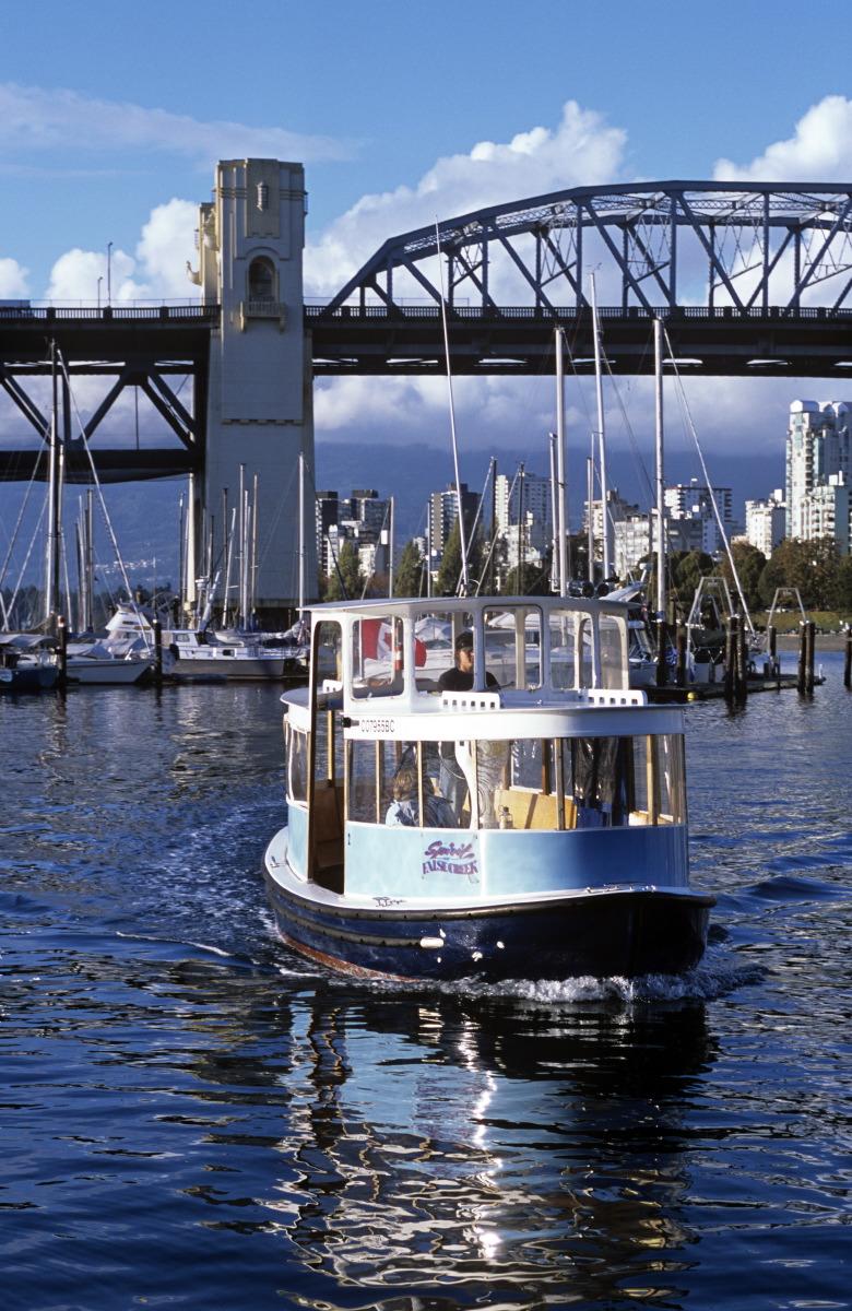 Petit ferry-taxi de Grandville Island