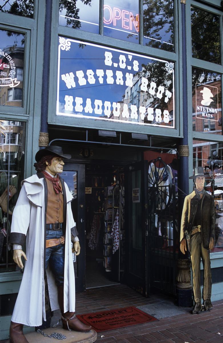 Vintage shop à Gastown