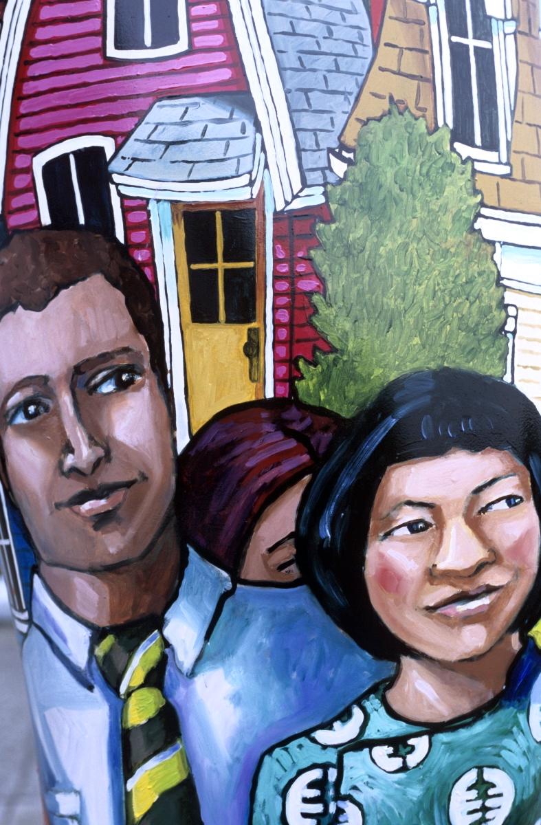 Fresque murale à Vancouver