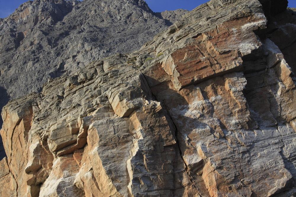 la parfaite géométrie des roches