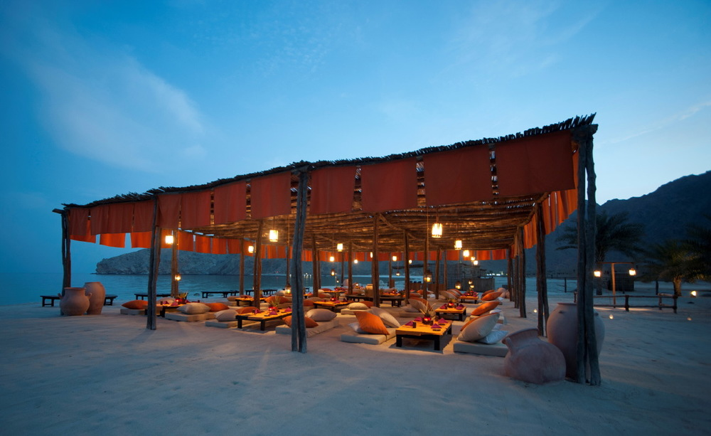 Au Spa Resort Six Senses, Zighy Bay, Dibba