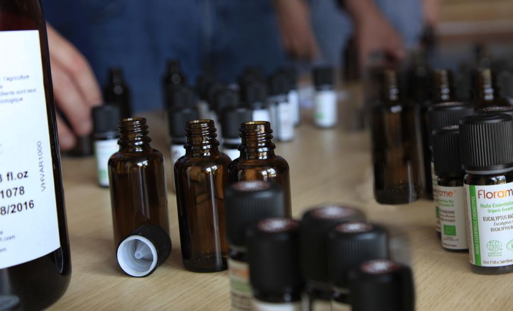 Atelier d'aromathérapie à Mane (Florame)