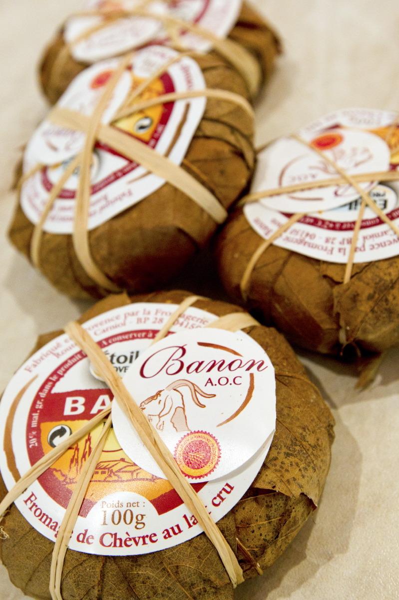 Célèbres petits fromages de Banon