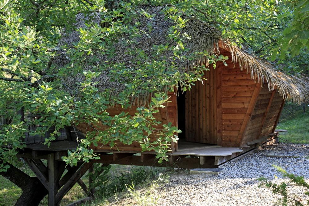 Cabane de Chanteoiseau à Sigonce