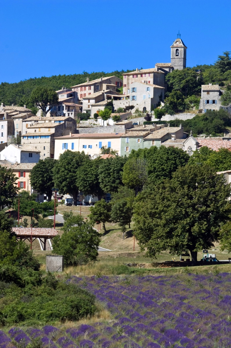 Le village de Banon ©PH. Leroux