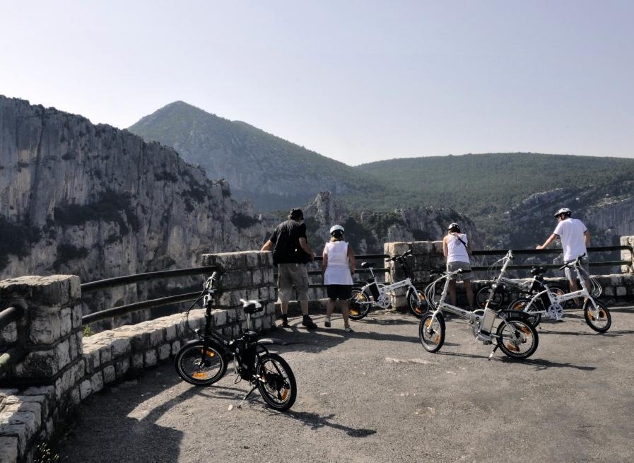 La route des crêtes autour des Gorges du Verdon