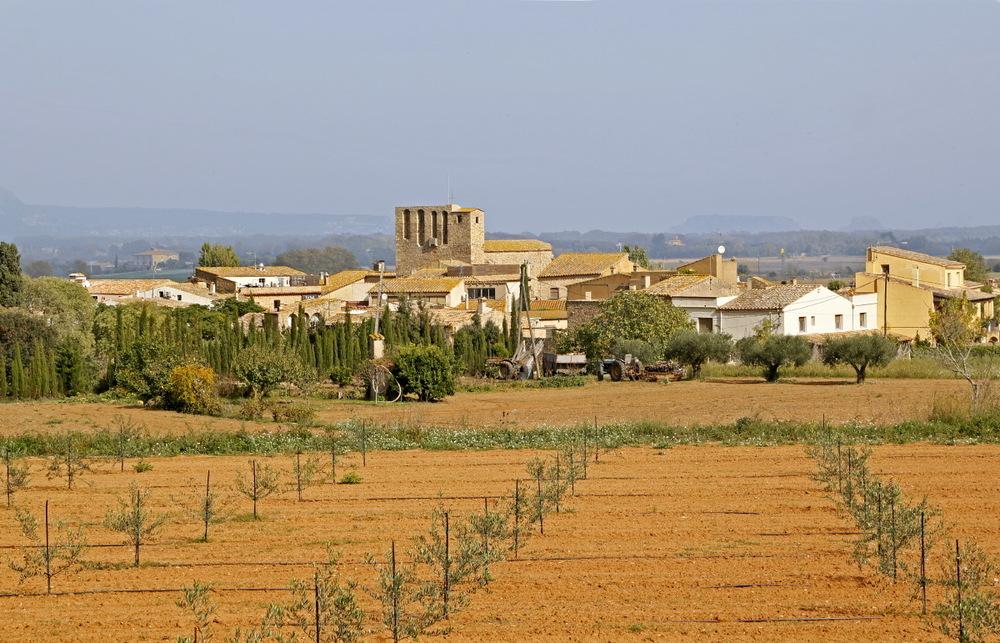 Très bel arrière pays de Catalogne